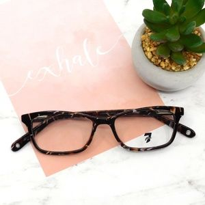 """7 FOR ALL MANKIND """"Lassen"""" Brown & Lilac Glasses"""